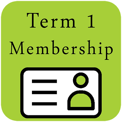 Term 1 - Junior Membership (9 Weeks)
