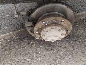 Замена шпилек колеса