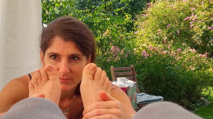 Füße lesen