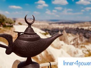 Finde die Lampe des Aladin
