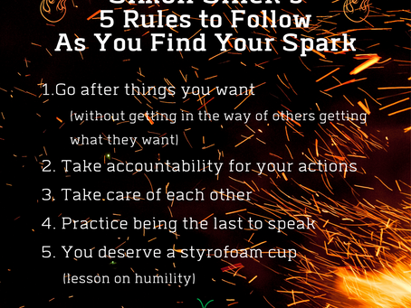5 Rules to Follow as You Find Your Spark