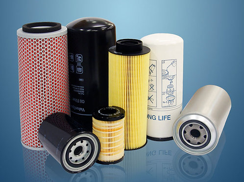 Filtros de ar, combustível, óleo, Lubrificante