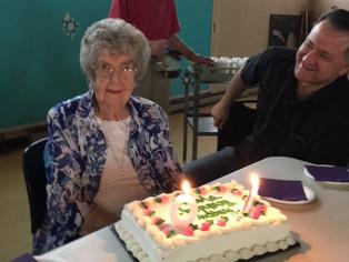 Happy 90th Birthday Mary Bliss