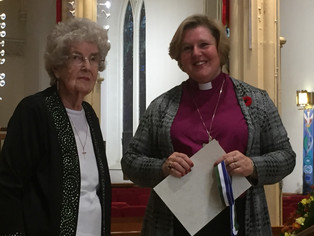 Our Congratulations to our newest member of the Order of Niagara, Mrs. Mary Bliss