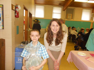 First Communion and 1st Annual East Egg Hunt