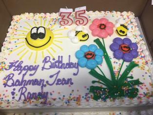 Happy Birthday Rev. Bahman, Jean and Randy