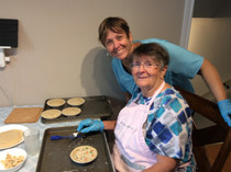 Pie Makers making their magic!