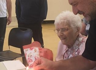 Happy 101st Birthday Lona Felker O.N.