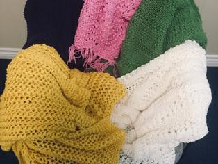 Beautiful new prayer shawls
