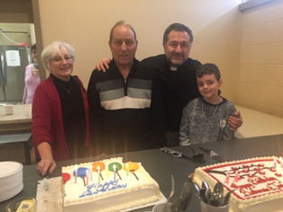 Happy Birthday Rev. Bahman, Jean, Joe and Owen