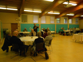 Introduction to Taize dinner and service