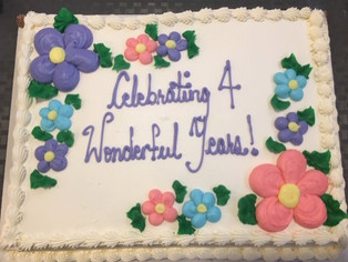 Celebrating the first 4 years of Ministry with us.