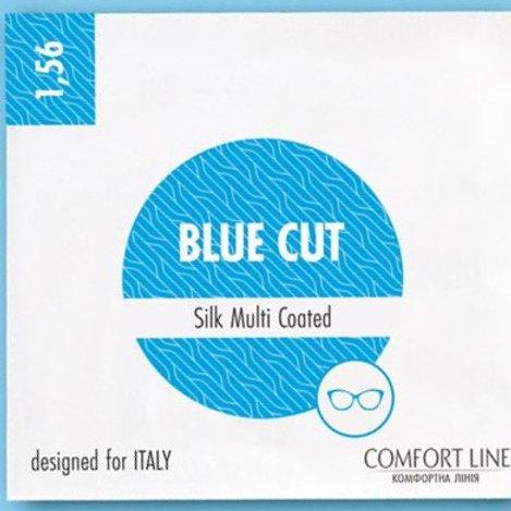 """линза Blue Cut 1.56 sph""""+"""" cyl до - 2.0  D65"""