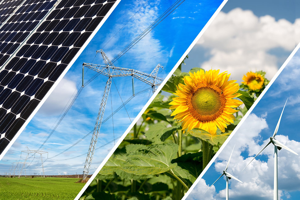 Concept of renewable energy and sustaina