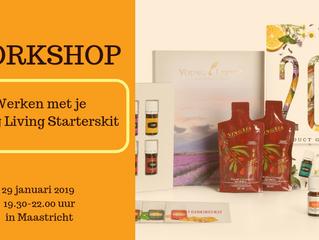 Workshop werken met je Young Living starterkit in Maastricht (29 januari)