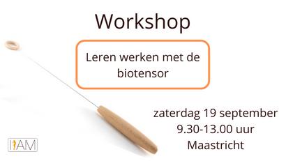 Workshop biotensor (19 september 2020)