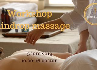 Workshop Raindrop massage Maastricht (5 juni 2019)