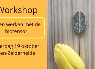 Workshop biotensor (19 oktober 2019 in Ven-Zelderheide)