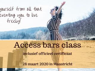 Gecertificeerde Access Bars class in Maastricht (28 maart 2020)