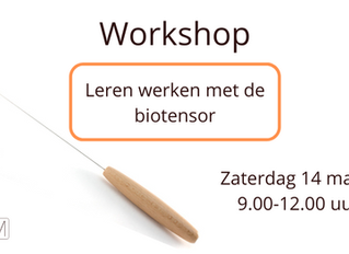 Workshop biotensor (14 maart 2020)