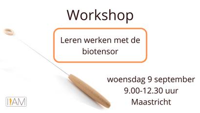 Workshop biotensor (9 september 2020)
