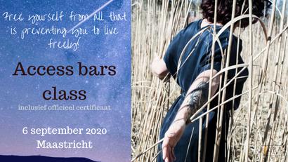 Gecertificeerde Access Bars class in Maastricht (6 september 2020)