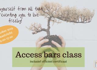Gecertificeerde Access Bars class in Maastricht (9 oktober 2019)