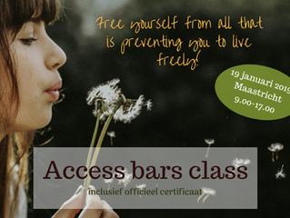 Gecertificeerde Access Bars class in Maastricht (19 januari)