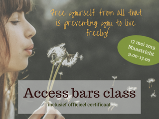 Gecertificeerde Access Bars class in Maastricht (17 mei 2019)