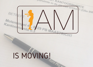 I AM is moving!