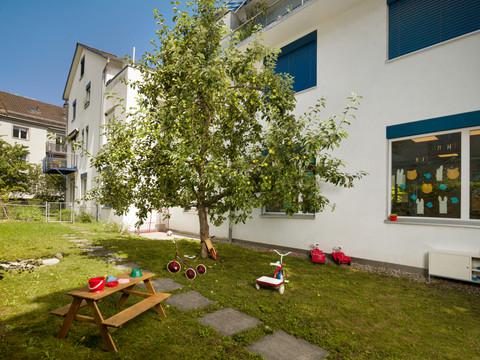 Garten Kita Oerlikon