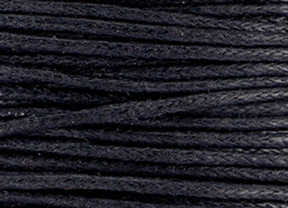 Waxed Cord 1mm - Black