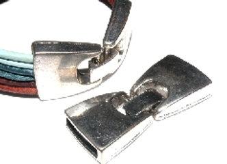 13x3mm Glue In End Clasp