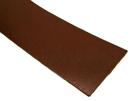 Italian Leather Strip - Mid Brown 1.4mm