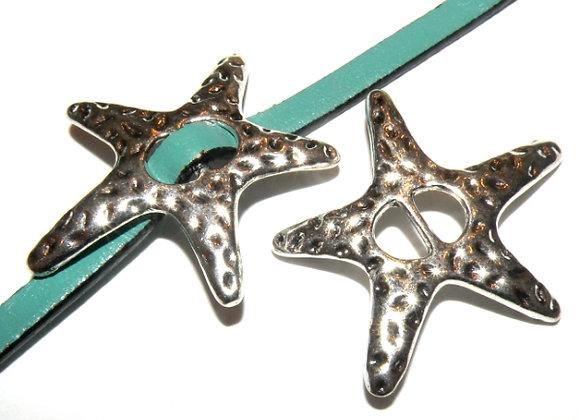 Starfish Slider Bead - 5mm Hole