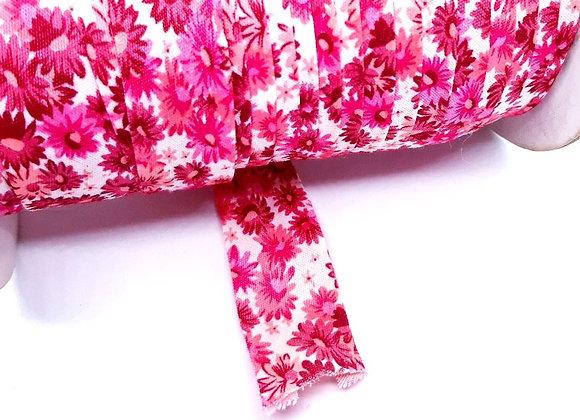 Binding Ribbon - Vintage Pink Floral