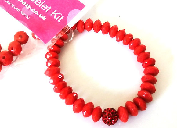 Jewellery making, crafts, bracelet kit