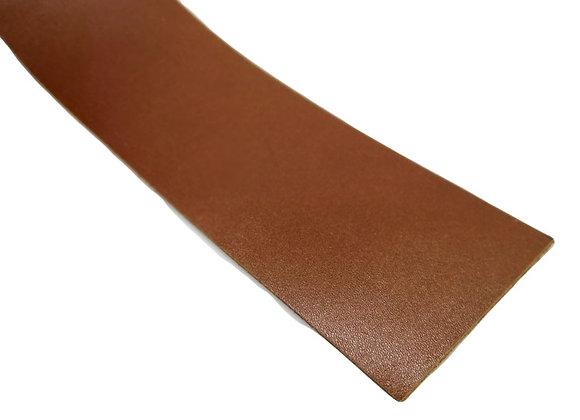 Italian Leather Strip - Dark Tan 1.4mm