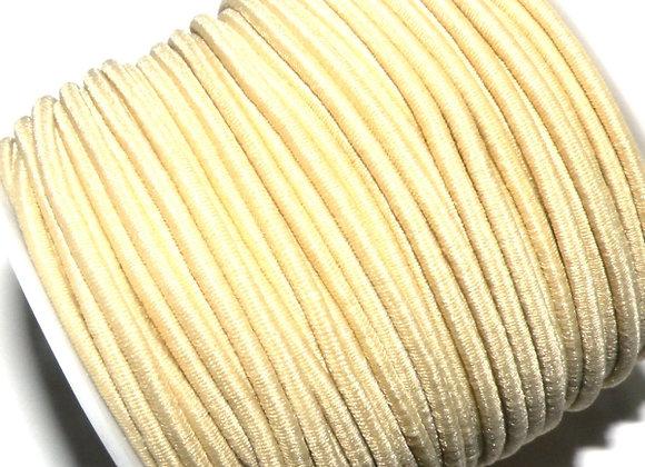 2.5mm elastic cord for macrame or jewellery making