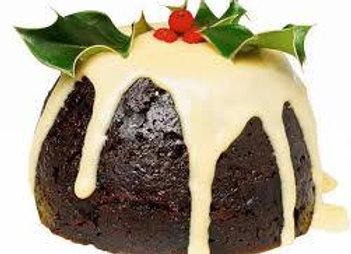 Laser Cut Christmas Pudding Charm