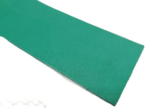 Italian Leather Strip - Teal Blue Calf Leather 1.4mm