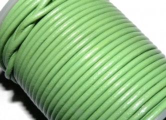 Fern Green 2mm Round Leather