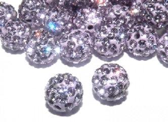 Baby Sham Lilac Grade A Crystals 8mm