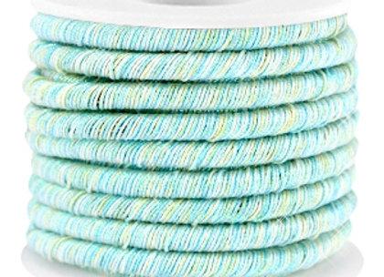Metallic String Cord Light Turquoise Green