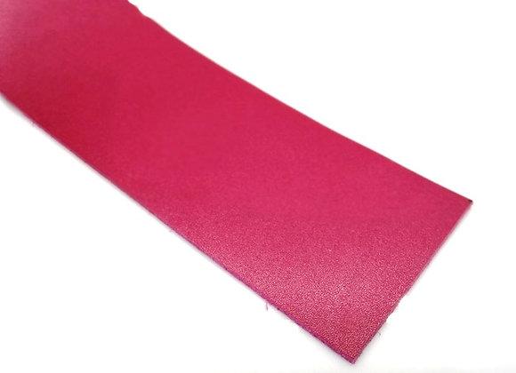 Italian Leather Strip - Fuschia Pink Calf Leather 1.4mm