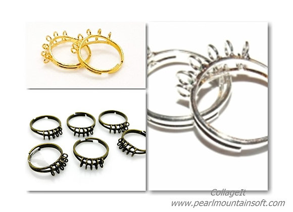Ten Loop Adjustable Ring Shank- Choice of Colours