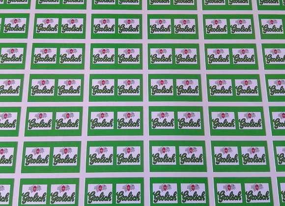 Fun Novelty Craft Stickers - Grolsch - Pack of 50