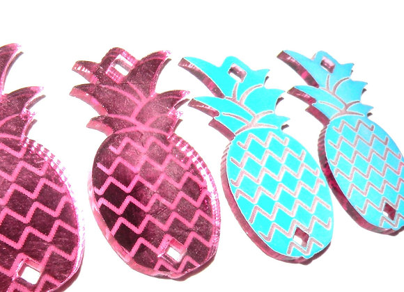 Plexi Pineapple Link 29mm Pink/Blue
