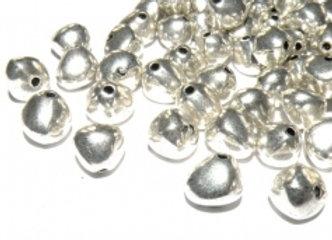 Metal Nugget Bead Pack of 10