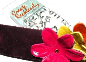 The Beadsmith Create Recklessly Silver Plated Eyelet Pack - 3/32x1/5in